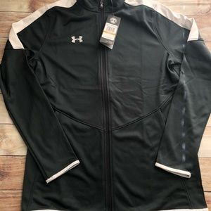 Under Armour full zip track warm up jacket small